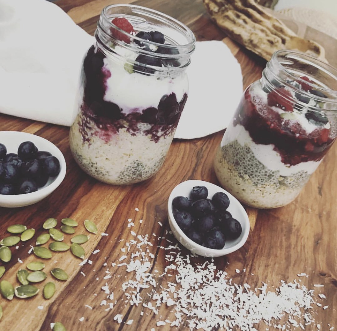 Overnight oats for busy people